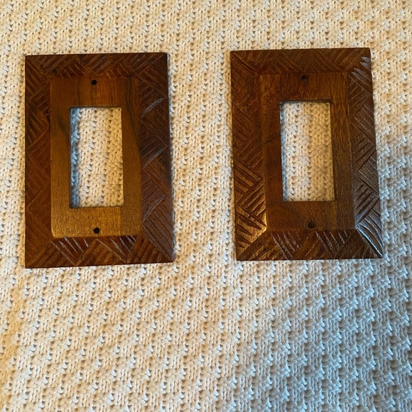 Brown Bohemian light switch covers from UO!